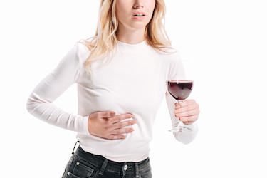 Liver problems can be caused by alcohol