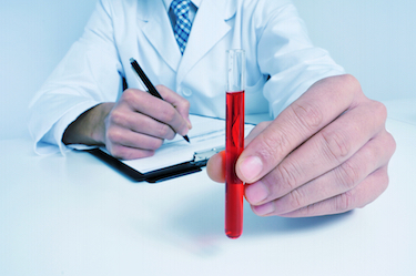Low red blood cell count can indicate anemia
