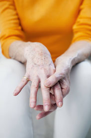 Rheumatoid arthritis is an autoimmune disorder and can affect finger joints