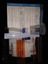 urine and swab home collection kit