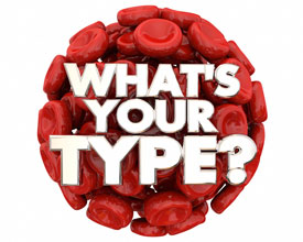 What's your blood type